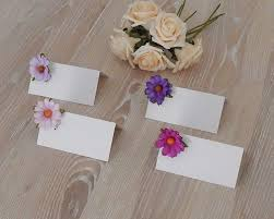 wedding favours personalised place card with italian wedding favours