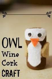diy back to owl wine cork craft for classroom management