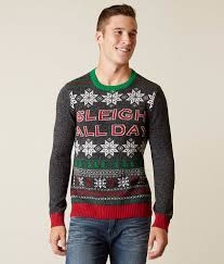 ugly christmas sweater sleigh all day sweater men u0027s sweaters in
