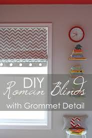 diy roman blinds with grommet detail u2014 interiors by sarah langtry