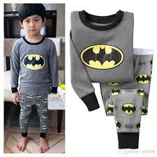 batman sleepwear baby boys cotton nightwear