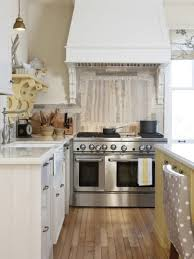 kitchen travertine backsplashes hgtv traditional kitchen