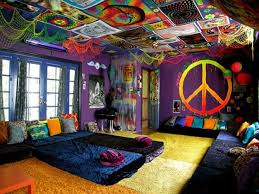 Beautiful Hippie Bedroom Decor Images House Design Interior - 60s home decor