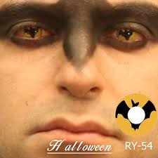 halloween eye contact lenses freshgo bat fox zombie white contact lenses animal eye contact