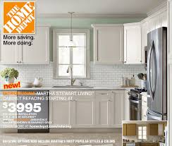 home depot stock cabinets martha stewart now offering cabinet refacing kitchen house