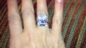 Kim Kardashian Wedding Ring by Kim Kardashians Engagement Ring 16 Carat Platinum Engagement Ring
