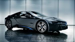Bmw I8 Headlights - hd background bmw i8 in white color side view night wallpapers