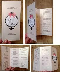wedding ceremony booklet wedding ceremony booklet mass booklet pinteres
