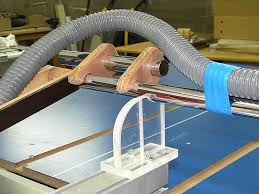 table saw guard plans table saw suva guard system with dust collection by steliart