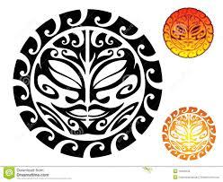 maori tribal sun tattoo designs photo 2 real photo pictures