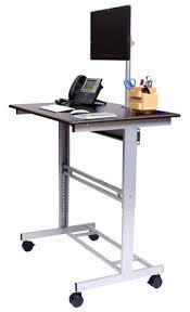 dual monitor stand up desk desk computer desk with built in monitor mount computer desk dual