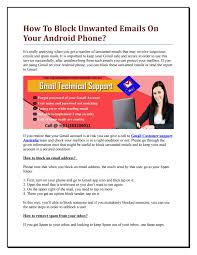how to block emails on android how to block emails on your android phone by gmail
