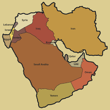 middle east map with countries middle east map maps of the middle east