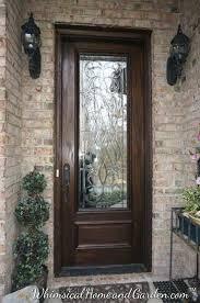 Exterior Doors Glass Glass Design For Front Doors Hermelin Me
