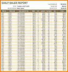 Daily Sales Report Template Excel Free 7 Daily Activity Report Format In Excel Free Mail Clerked