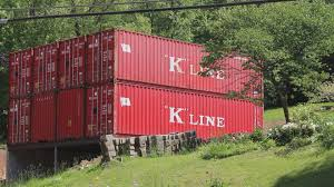 ksdk com st charles artist builds home from railroad containers