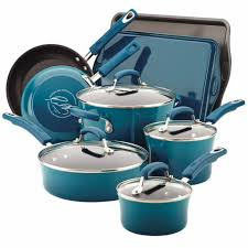 target rachel ray cookware black friday rachael ray 10 piece porcelain enamel non stick cookware set in