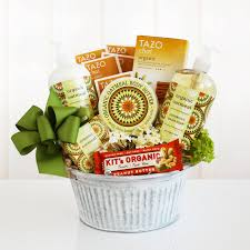 california gift baskets california delicious organic oatmeal spa gift basket hayneedle