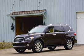 compare infiniti qx56 and lexus lx 570 2013 infiniti qx56 performance review the car connection