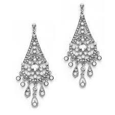 art deco crystal ring holder images Crystal amp pearl art deco chandelier earrings jpeg