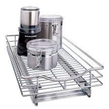 Kitchen Cabinets Baskets Mesh Sliding Cabinet Baskets In Pull Out Baskets