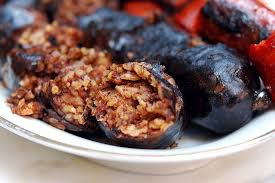 cuisine aragon morcilla a local dish of aragon spain aragon