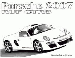 printable coloring pages of sports cars kids coloring