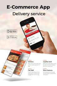 Pizza Delivery Resume Pizza Delivery E Commerce App Template 65259