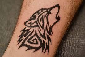 tribal wolf vikingler tribal wolf tattoos