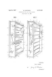 patent us3312159 combination fire and volume damper google patents patent drawing