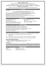 Sample Resume For 1 Year Experience In Manual Testing by Fresher Resume Examples Fresher Testing Cv Sample Resume For