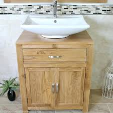 Wooden Vanity Units For Bathrooms Unbelievable Oak Bathroom Vanity Units Rustic Oak Vanity Unit From
