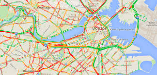 traffic map boston traffic update patriots parade gridlock wednesday feb 4