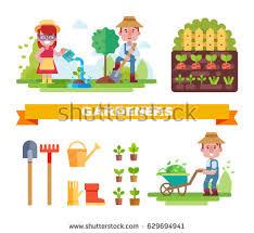 free garden equipment vectors from vecteezy