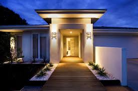 modern yard lighting contemporary exterior by mckay landscape