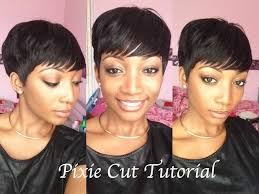 cut your own pixie haircut diy how to cut style a pixie wig youtube