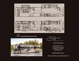 Country Coach Floor Plans by Florida Coach Inc X3 45 Vip Prevost Star Motorhome