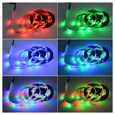 rgb led strip lighting dc 5v 3528 smd usb charger rgb led strip light ir rf remote