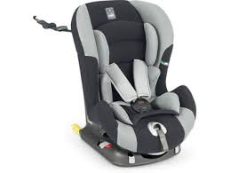 sur siege auto of rental car seat for newborn baby or child in