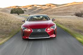 logo of lexus car brand 2018 lexus lc 500 packs 471 hp goes on sale next may