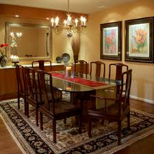 Traditional Dining Room Chandeliers Persian Carpet For Traditional Dining Room Ideas With Antique Gold