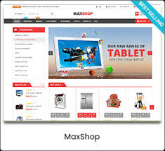 theme toko online landing page maxshop multi purpose responsive woocommerce theme mobile layouts