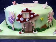 fairy toadstool cake children u0027s birthday parties pinterest