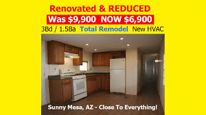 3 bd mobile home for sale in mesa arizona youtube