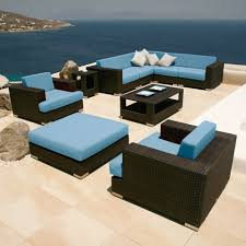 Artificial Wicker Patio Furniture by Cushions For Wicker Outdoor Furniture