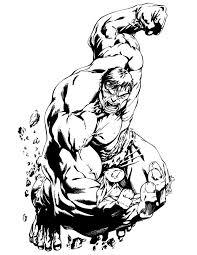 incredible hulk classic comic coloring hulk ironman