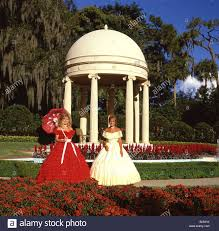southern belles in gardens cypress gardens theme park near