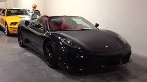 black f430 black carbon fiber f430 spider
