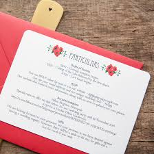 Accommodation Cards For Wedding Invitations Wintry Reindeer Wedding Stationery By Wedding In A Teacup
