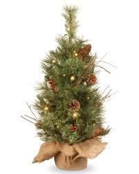 bargains on national tree company glistening pine small tree in